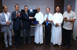 Rajagiri Hospital signs agreement with Shimane University Japan